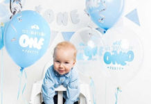 Balony na roczek waszego maleństwa od Leona Kameleona