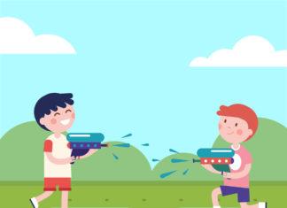 Wodne atrakcje dla dzieci - dmuchańce